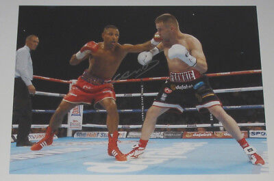 Kell Brook Boxing Personally Hand Signed 16X12 Autograph Photo