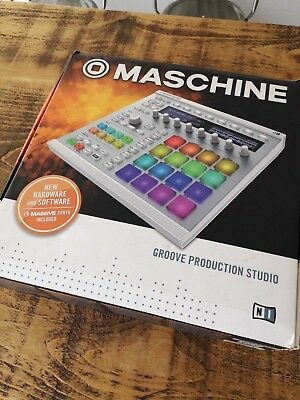 Maschine Mk2 Groove Production Studio Colour White preowned boxed