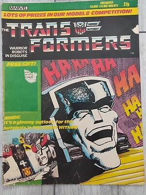 marvel transformers comics uk issue #17. Dated 4th May - 17th May 1985