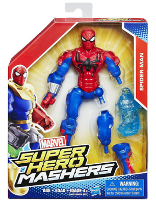 Spider-Man Action Figures 15 Cm Marvel Super Hero Mashers Personaggio Articolato