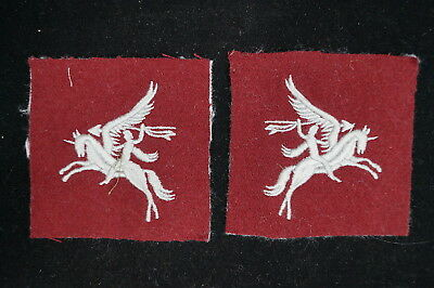 WW2 1st Canadian Parachute Battalion 1 Can Para Sleeve Patch Pair REPRODUCTION
