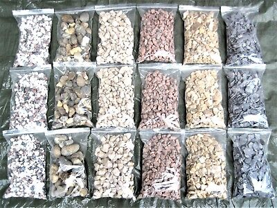 Washed Gravel Stone Chippings Edging Basing Scatter Stones Pot Plants Cactus