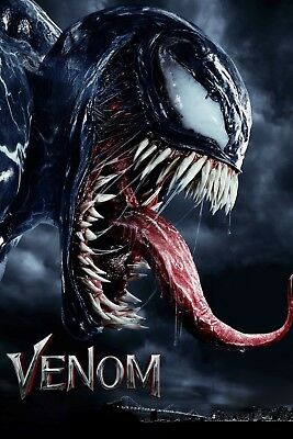 Venom Movie Poster Film Art New Wall Art Print A4 A3 A2 Maxi -536