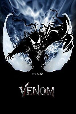 Venom Movie Poster Film Art New Wall Art Print A4 A3 A2 Maxi -537