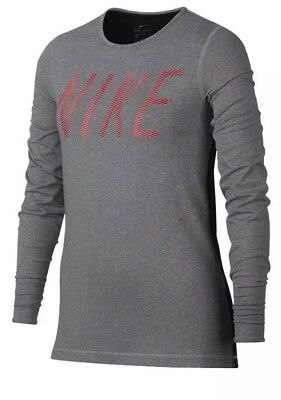 New Girl's Nike Pro Warm GX Long Sleeve Training Shirt AA8715 XLarge NWT