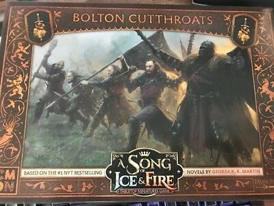 A Song of Ice and Fire Tabletop CMON Bolton Cutthroats Expansion