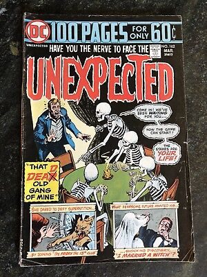 The Unexpected Comic Book #162 1975 DC Comics 100 Pages