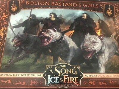 A Song of Ice and Fire Tabletop CMON Boltons Bastard´s Girls Expansion