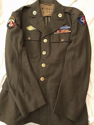 Wwii 38Th Infantry Division And Philippine General Staff 4-Pocket Jacket