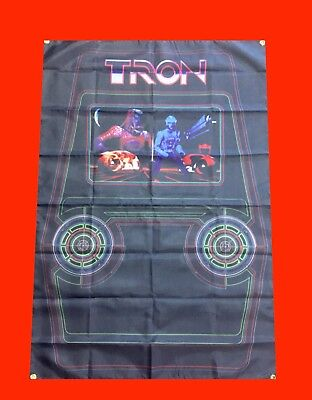 LARGE TRON - Arcade Video Game Banner Flag Poster