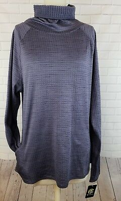 NWT Champion C9 Duo Dry Pullover Grey Sweater Women's Sz XL