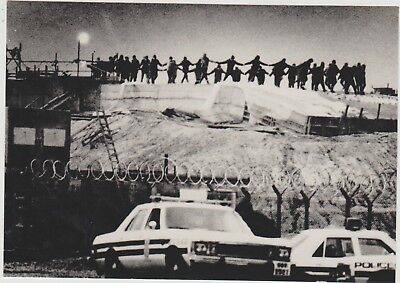 Women Dance At Dawn On A Cruise Missile Silo Site Greenham Common 1st Jan 1983