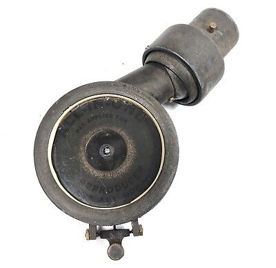 Edison Diamond Disc Adapter ALL IN ONE REPRODUCER on Tone Arm for Victrola