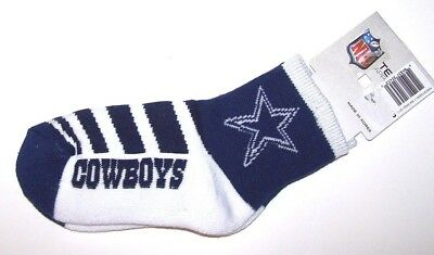Nwt New Dallas Cowboys Star Logo NFL Football Socks Unisex Child Youth Adult