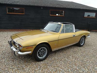 1976 TRIUMPH STAG manual