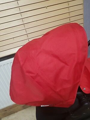 bugaboo donkey Fabric Hood Red no fading