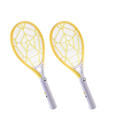 Electric Fly Swatter Rechargeable 2PCS Bug Zapper Racket Killer Mosquito Swatter