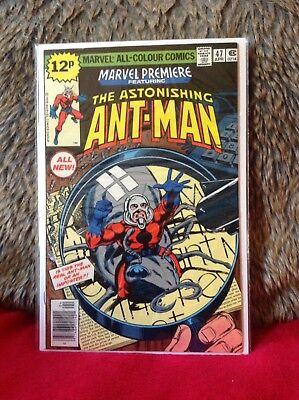 Marvel Premiere # 47 First Appearance New Ant Man Vfn+ Marvel Comics