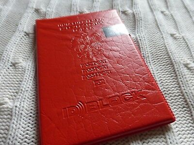 Passport Cover For Bio Passport Poland Rfid Secured Made In Poland