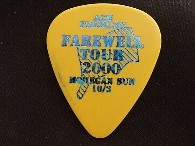 Kiss (Ace Frehley) Concert Tour Guitar Pick (80S Pop Hard Rock Heavy Metal Band)