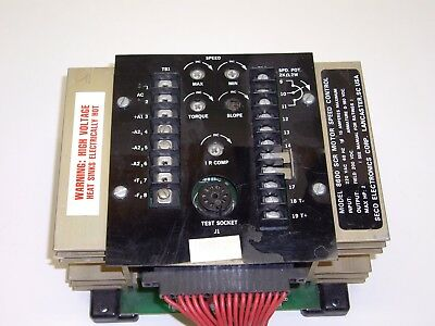 Seco 8600 DC Drive 2HP 230v MOTOR SPEED CONTROL