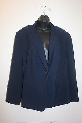 db97878cd John Meyer Collection Women's One-Button Lined Blazer Jacket Size: 22W