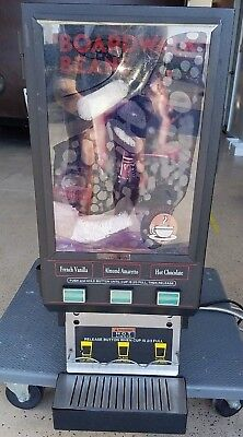 Bunn 3 Flavor Hot Beverage Cappuccino Hot Chocolate Coco Dispenser - BARELY USED