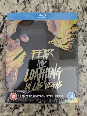 Fear And Loathing In Las Vegas Blu Ray Steelbook Brand New & Sealed (UK Edition)