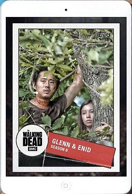 TOGETHER MARATHON GLENN & ENID Walking Dead Trader Digital Card