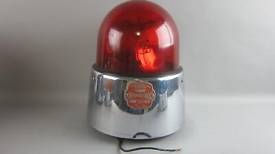 Federal Sign and Signal Corporation Beacon Ray RED Dome Model 17
