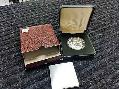 Rare 2004 Lithuania 50 Litas Silver - XXVIII Olympic Games in Athens -Only 2,000