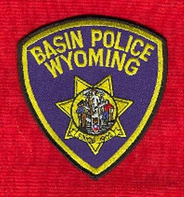 Law Enforcement Patch--Basin Pd Wyoming--New*