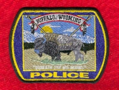 Law Enforcement Patch--Buffalo Wyoming--New*