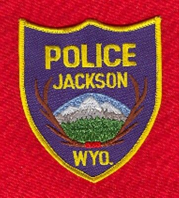 Law Enforcement Patch--Jackson Wyoming--New*