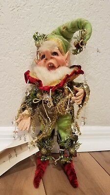collectible Mark Roberts icicle elf size small