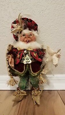 collectible Mark Roberts two turtle doves elf size small