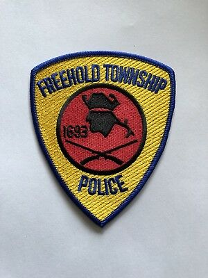Freehold Township Police (New Jersey) Shoulder Patch from 1985