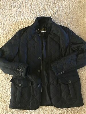 Barbour Lutz Quilted Jacket Size UK Large/US Medium Retail: $269
