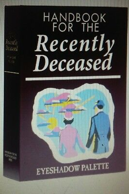 Beetlejuice handbook for the recently deceased eyeshadow palette collectible NEW