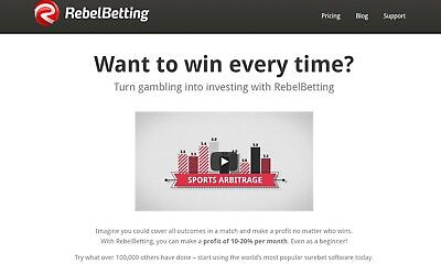 Rebel Betting Sports Arbitrage Betting Software Subscription