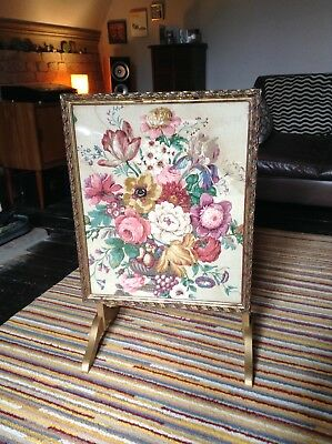 Edwardian folding tea coffee card games occasional side end table fire screen
