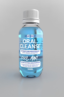 Oral Cleanse Mouth Wash Saliva Detox Test Drug Test Saliva Drug Test