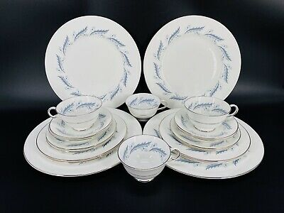Royal Albert Flower Of The Month May Lily Of The Valley Mug Dessert Plate Set