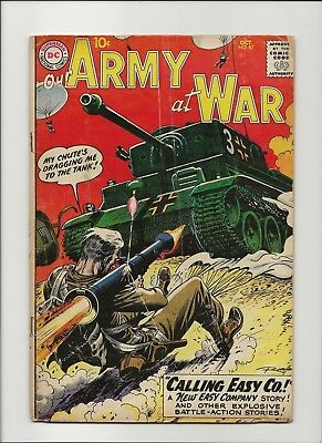 Our Army at War 87 VG- 3.5 Early Sgt Rock & Easy Co 1959