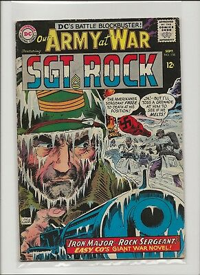 Our Army at War 158 VG 4.0 Sgt Rock & Easy Co 1st Iron Major 1959