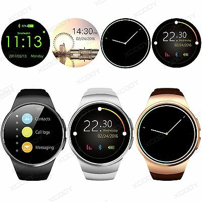 Bluetooth Smart Watch Wrist Splash Proof Phone Mate For Android Samsung iPhone