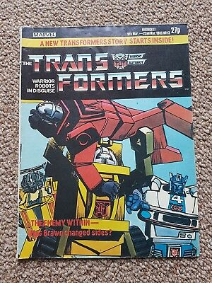 marvel transformers comics uk #13