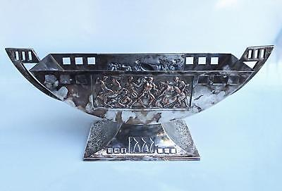 WMF ART DECO SILVER-PLATED CENTERPIECE 1920s ANTIQUE VTG GERMAN GEISLINGEN RARE