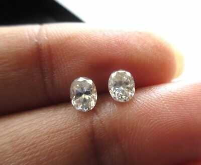 1 Piece 5mm Oval Cut GH/VS2 Colorless Moissanite Diamond Loose For Ring MM140/16