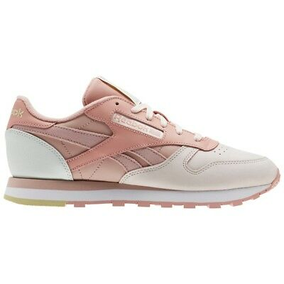 3c6bc3d335c Reebok Classic Leather Pm (PALE PINK SHELL PNK CHLK) Women s Shoes CN0361